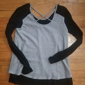 Maurices Tops - Maurices XL Balck And White Blouse